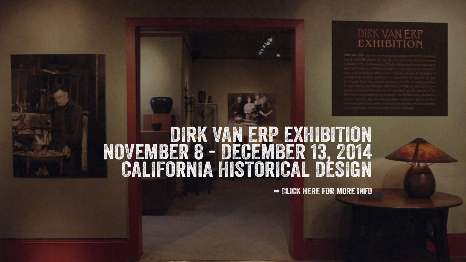 The Dirk Van Erp Exhibition